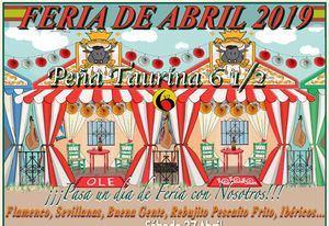 La Peña Taurina Seis y Medio celebra este sábado su Feria de Abril