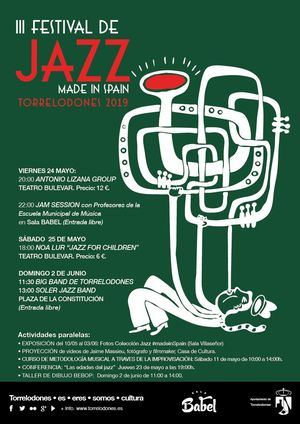 Vuelve el jazz con el Festival Made in Spain