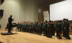 Los coros del Colegio San Ignacio, en el Certamen regional de Coros Escolares