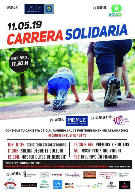 Este sábado, V Carrera Solidaria del Colegio Laude Fontenebro