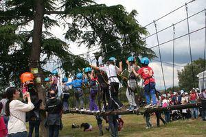 Las familias celebran su Día Internacional en la Finca de El Pilar