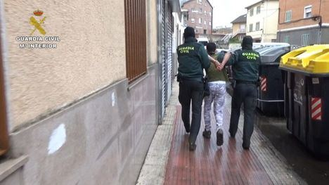 Imagen de una de las detenciones efectuadas en Collado Villalba