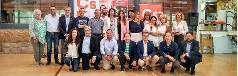 Ciudadanos presenta a sus candidatos y los principios de su programa electoral