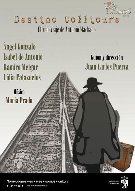 'Destino Collioure', el último viaje de Antonio Machado al exilio