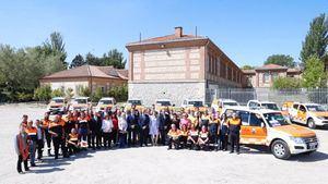 Nuevos vehículos para 18 agrupaciones de Protección Civil