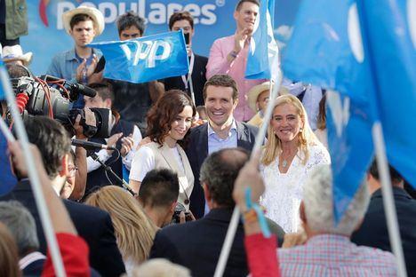 Pablo Casado e Isabel Díaz Ayuso apoyan la candidatura de Mariola Vargas