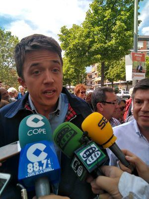 Íñigo Errejón aboga por una Comunidad más verde