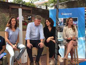 Isabel Díaz Ayuso hace balance en el pre-cierre de la campaña electoral