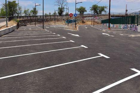 Ya se puede utilizar el aparcamiento de la Estación de La Navata