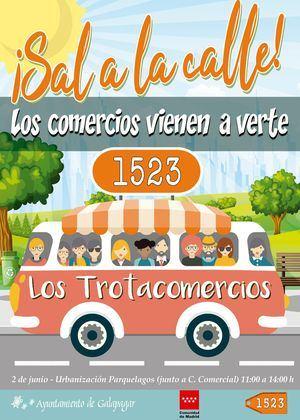 Los 'Trotacomercios' llegan a Parquelagos el 2 de junio