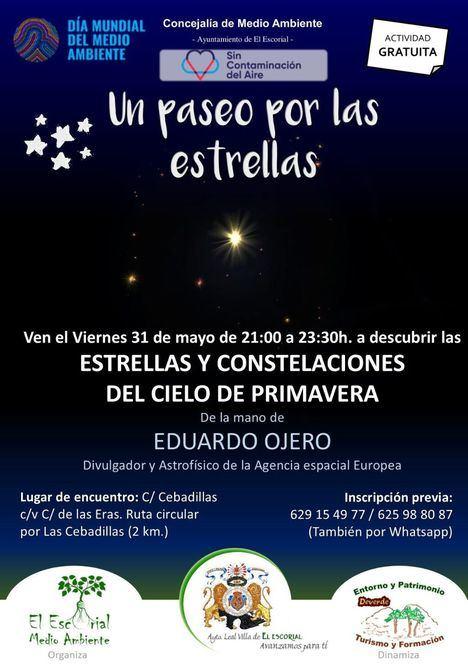 Un paseo por las estrellas para el Día Mundial del Medio Ambiente