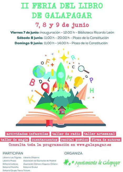 Literatura y talleres en la II Feria del Libro