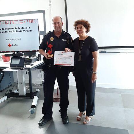 Reconocimiento de Cruz Roja a la Policía local