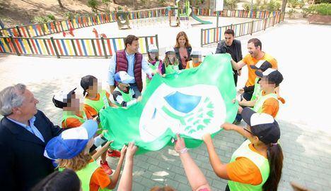 Banderas verdes para las Ecoescuelas de Las Rozas