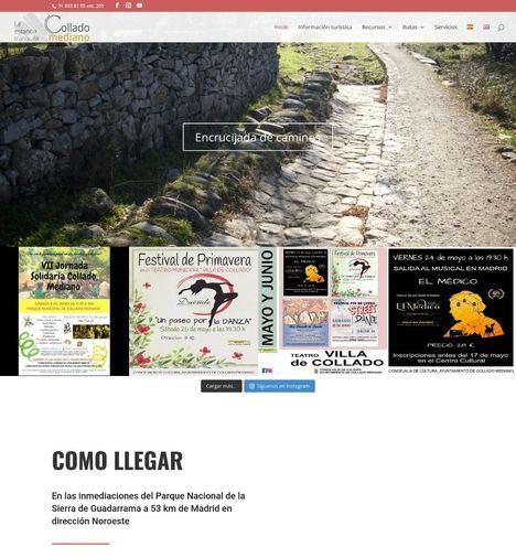 Una nueva web de turismo para difundir el patrimonio collaíno
