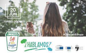 Un café para debatir sobre Europa y los temas que preocupan a los jóvenes
