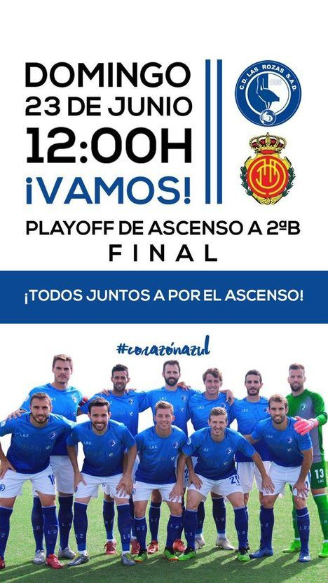 El asalto definitivo de Las Rozas CF al ascenso a Segunda B