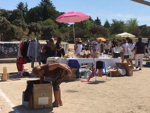 El Mercadillo Popular de Torrelodones, un domingo más en Pradogrande