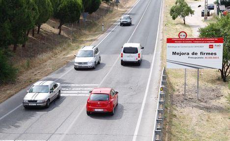 Más de 400 kilómetros de carreteras se asfaltarán en los próximos meses