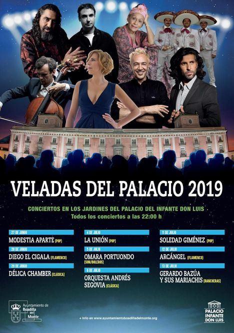 Comienzan las Veladas del Palacio con Modestia Aparte y Diego El Cigala
