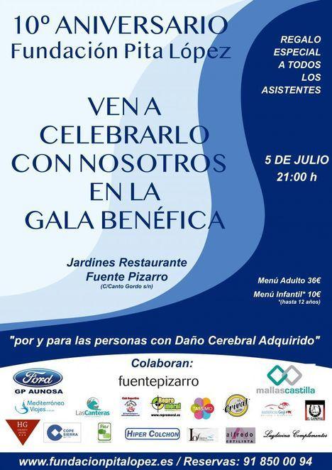La Fundación Pita López celebra su décimo aniversario en su Gala Benéfica