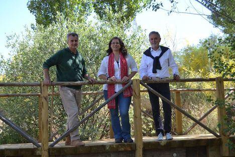 Arquitectos del Equipo Pikionis, responsables del proyecto del parque