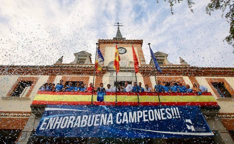Las Rozas CF jugará la próxima temporada en Segunda B