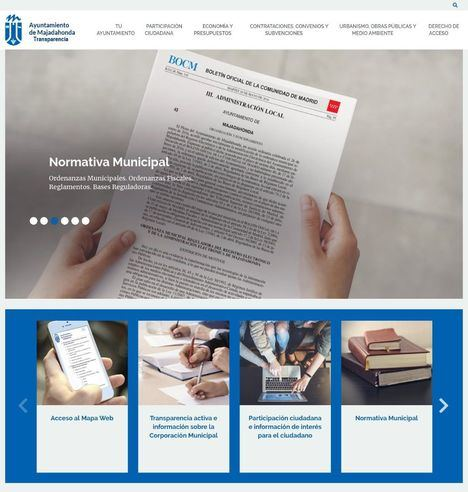 En marcha el nuevo Portal de Transparencia municipal