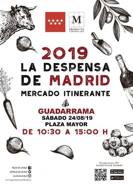 La Despensa de Madrid visitará Guadarrama en agosto