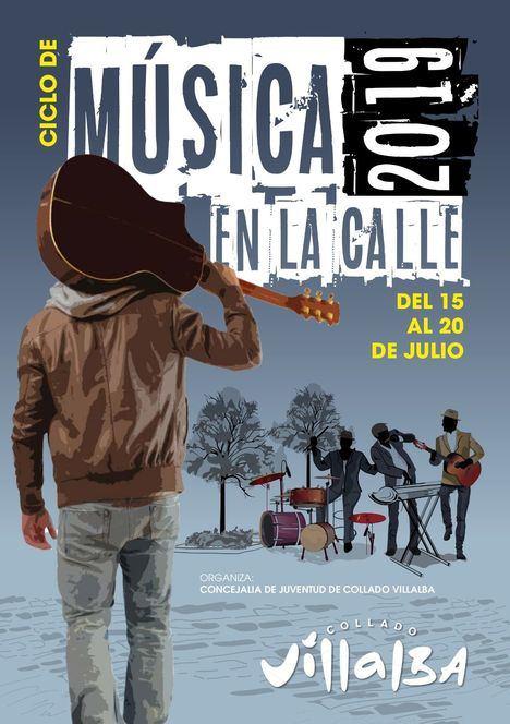 La música sale a la calle en Collado Villalba durante toda la semana