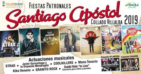 Manu Tenorio, la Orquesta Mondragón y Kiko Veneno, en las fiestas de Santiago Apóstol