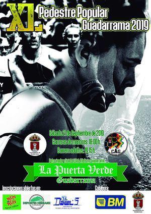 Abierta la inscripción para la 40ª Pedestre Popular de Guadarrama