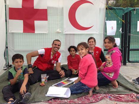 Un año de acogida temporal de refugiados por Cruz Roja