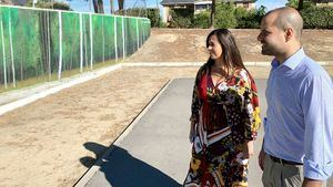 El Monte del Pilar estrena mural y pista de petanca