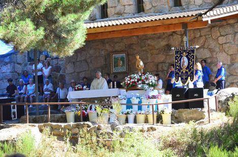 Diversión y devoción en la Romería de la Virgen de la Jarosa