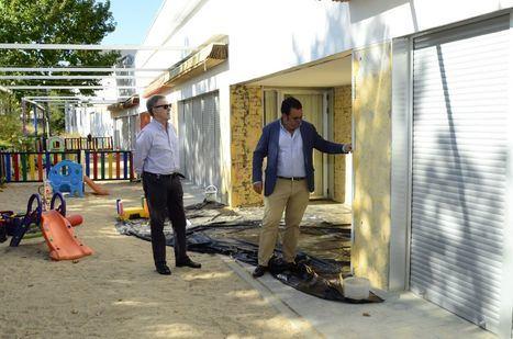 Obras de mejora en las escuelas infantiles durante el verano