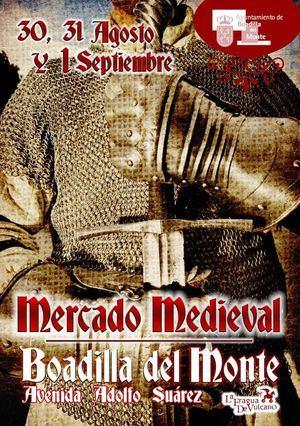 Boadilla despide agosto con el Mercado Medieval
