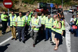 Obras en las carreteras madrileñas durante el verano