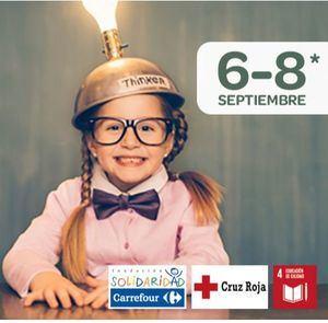 Nueva edición de la 'Vuelta al Cole Solidaria' de Cruz Roja