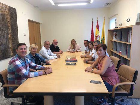Reunión con los responsables del sindicato UGT