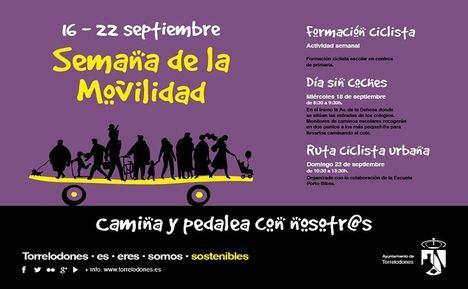 La localidad celebra, un año más, la Semana Europea de la Movilidad