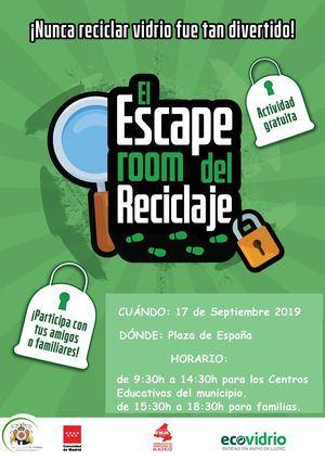 Este martes llega el Escape Room del Reciclaje