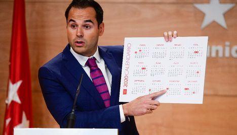 Doce días festivos para el Calendario Laboral de 2020