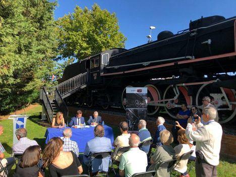 Una nueva locomotora dará la bienvenida a Las Matas