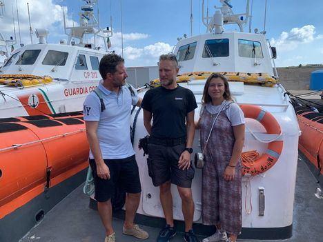 Viaje del Colegio San Ignacio a Lampedusa para conocer la realidad de la emigración