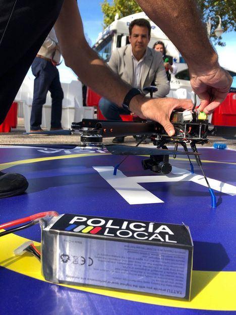Drones, cámaras y 150 efectivos para garantizar la seguridad en las fiestas