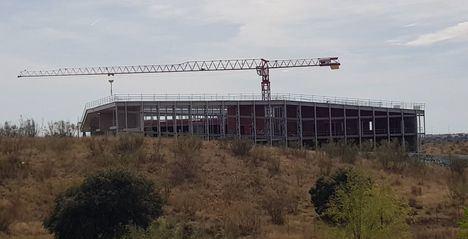 Se retoman las obras de ampliación del Campus de la UNED
