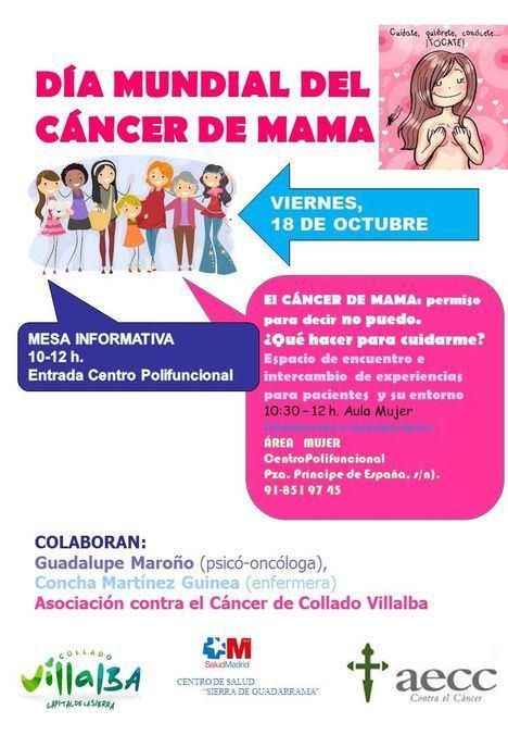 Actividades con motivo del Día Mundial del Cáncer de Mama