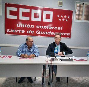 Jaime Cedrún presenta la campaña contra la precariedad laboral de CCOO