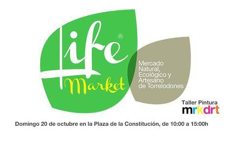 Nueva edición del Mercadillo Ecológico Life Market